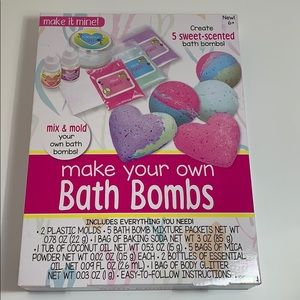 New Bath Bombs